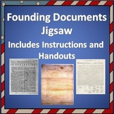 U.S. Founding Documents Jigsaw - Instructions & Handout