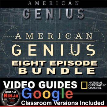 American Genius Entire Series Video Guides, Keys & Weblinks