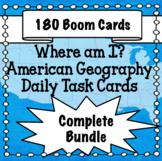American Geography Boom Card Bundle - States, Capitals, La
