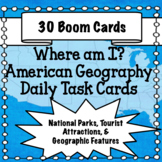American Geography - National Parks, Tourist Attractions +
