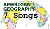 American Geography Songs - Complete Album, Lyrics, and Pla
