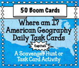 American Geography - The 50 State Capitals Boom Cards