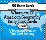 American Geography - The 50 United States of America Boom