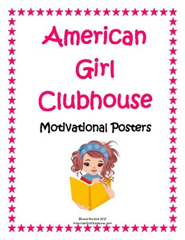 photo regarding Printable Motivational Posters identified as American Woman Clubhouse Printable Inspirational Posters