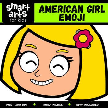American Girl Emoji Clip Art