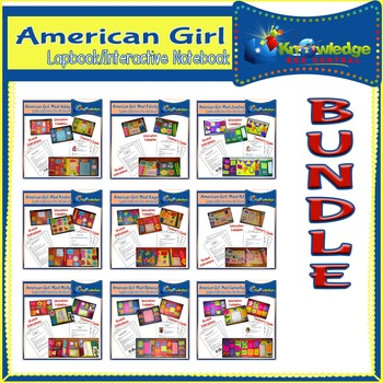 American Girl Lapbook / Interactive Notebook BUNDLE