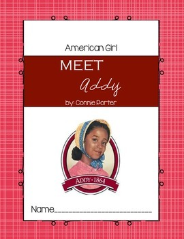 American Girl: Meet Addy Comprehension Questions