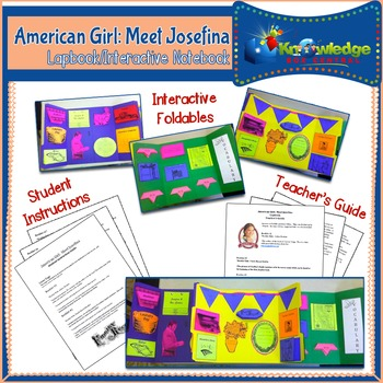 American Girl: Meet Josefina Lapbook / Interactive Notebook