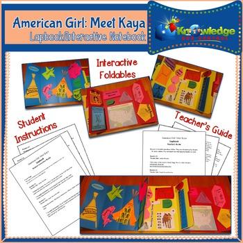American Girl: Meet Kaya Lapbook / Interactive Notebook
