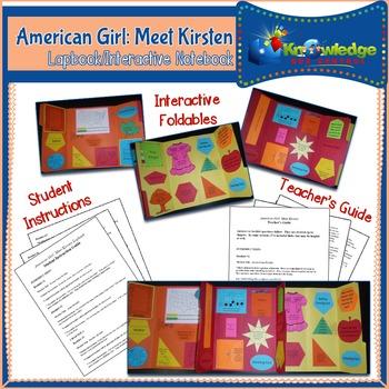 American Girl: Meet Kirsten Lapbook / Interactive Notebook