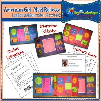 American Girl: Meet Rebecca Lapbook / Interactive Notebook