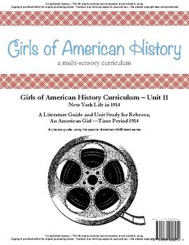 American Girl Unit 11 New York Life in 1914 -Rebecca® - Co-op/School License