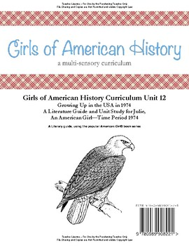 American Girl Unit 12 Growing Up in the USA in 1974-Julie® - Teacher License