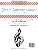 American Girl Unit 14 1964 Life in the USA in the 1960's-Melody®-Teacher License