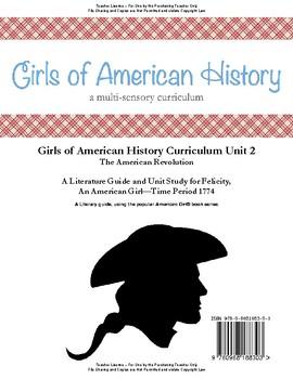 American Girl Unit 2 1774 American Revolution-Felicity® Teacher License