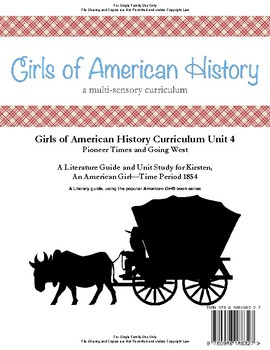 American Girl Unit 4 1854 Pioneer Times-Kirsten® - Family License