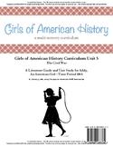 American Girl Unit 5 1864 Civil War-Addy® - Co-op/School License