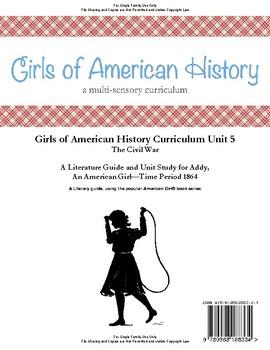 American Girl Unit 5 1864 Civil War-Addy® - Family License