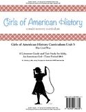 American Girl Unit 5 1864 Civil War-Addy® - Teacher License