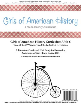 American Girl Unit 6 1904 Industrial Revolution-Samantha® - Co-op/School License