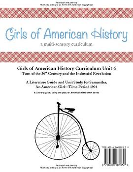American Girl Unit 6 1904 Industrial Revolution-Samantha® - Family License
