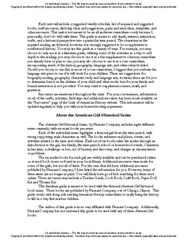 American Girl Unit 8 1944 World War II-Molly® - Co-op/School License