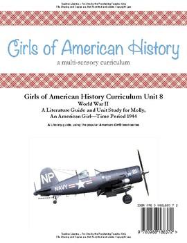 American Girl Unit 8 1944 World War II-Molly® - Teacher License