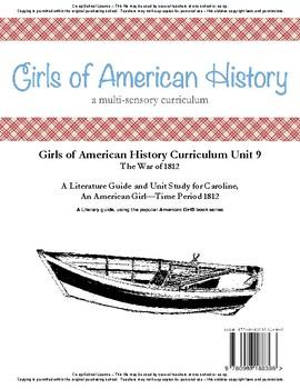 American Girl Unit 9 1812 War of 1812-Caroline® - Co-op/School License
