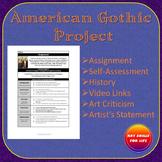 American Gothic - High School Art Assignment