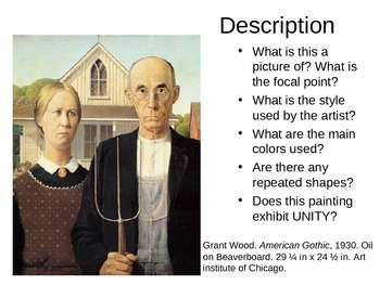 American Gothic Critique and Twist