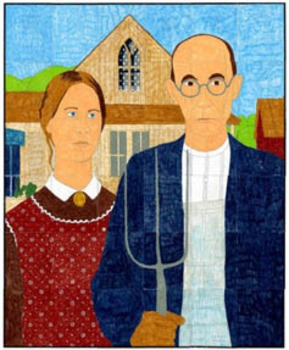 American Gothic Mural