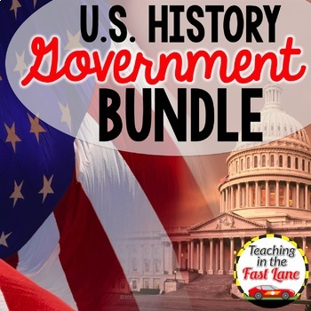 American Government Bundle {U.S. History}