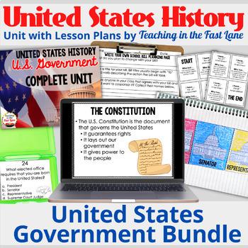 American Government Bundle {U.S. History}