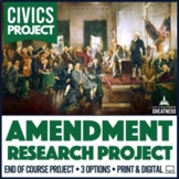 American Government Civics Constitutional Issues Research Paper Project