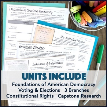 American Government / Civics Course Bundle (Growing!)