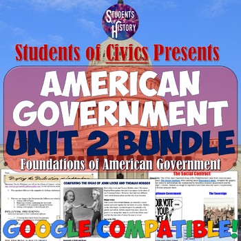 American Government & Civics Unit 2: Foundations of Government Unit Plan