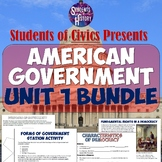 American Government & Civics Unit Plan Bundle