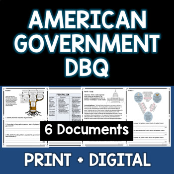 American Government DBQ - Document Based Essay