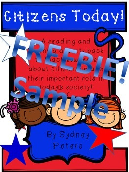 American Government, Election Day, and Presidents -FREEBIE! (sample)