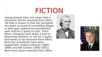 American Government Fact or Fiction