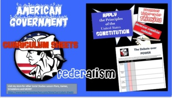 American Government-Federalism (The Debate Over Power)