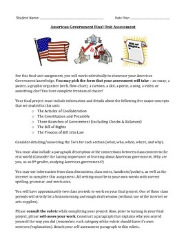 American Government Final Assessment