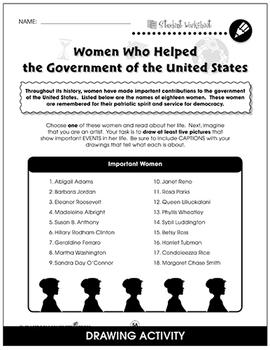 American Government Gr. 5-8 - BONUS WORKSHEETS