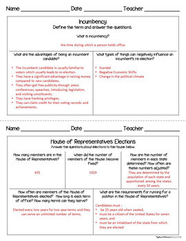American Government Bundle - Interactive Note-taking Activities