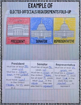 American Government Notebook Kit {U.S. History}