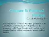 American Government: Political Parties PowerPoint