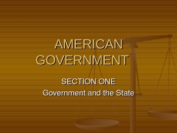 American Government PowerPoint Presentation