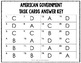 American Government Task Cards {U.S. History}