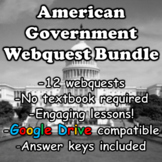 American Government Webquest Bundle