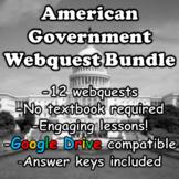 American Government Webquest Bundle